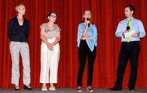 Nina Messinger bei Filmvorführung von Hope for All