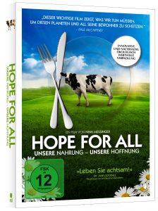 DVD-Cover Hope for All (Packshot)