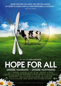 Kinoplakat Hope for All in A4 (300dpi, Druckqualität)